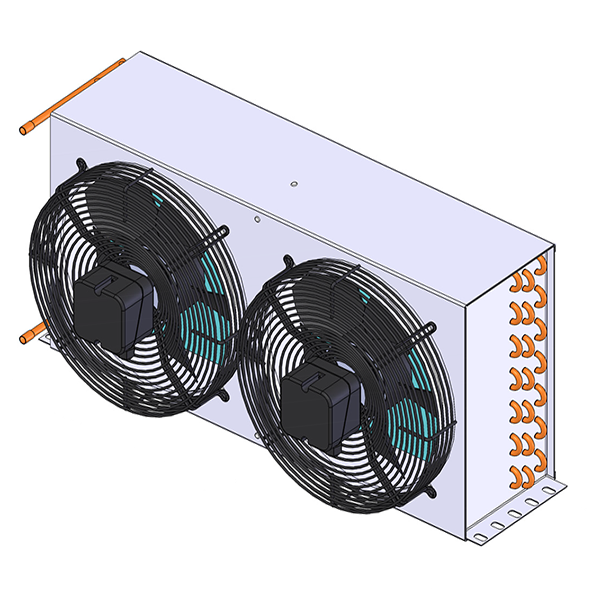 HTS condensers with fan